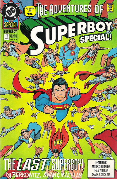 Image result for SUPERBOY: THE COMIC BOOK