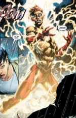 Wally in his first alias: Kid Flash