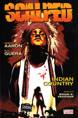 Cover for the Scalped Vol. 1: Indian Country Trade Paperback