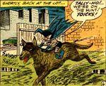 Bat-Mite rides Ace