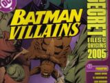 Batman Villains Secret Files and Origins Vol 1 2005
