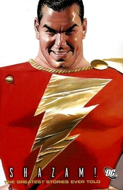 Cover for the Shazam!: The Greatest Stories Ever Told Trade Paperback