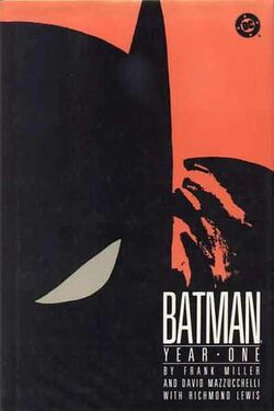 Cover for the Batman: Year One Trade Paperback