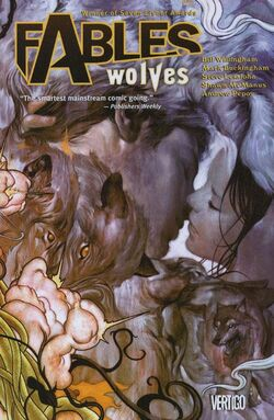 Cover for the Fables: Wolves Trade Paperback