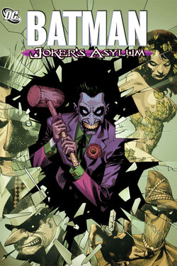 Cover for the Batman: Joker's Asylum Trade Paperback