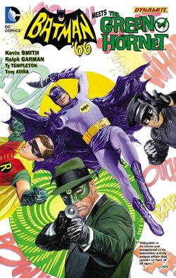 Cover for the Batman '66 Meets The Green Hornet Trade Paperback