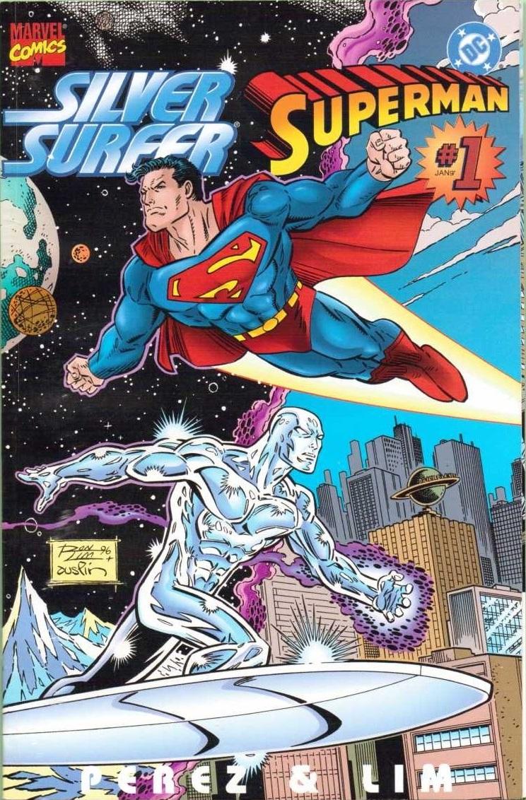 silver surfer superman vol 1 1 dc database fandom powered by wikia