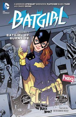 Cover for the Batgirl: The Batgirl of Burnside Trade Paperback