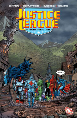 Cover for the Justice League International: Volume Six Trade Paperback