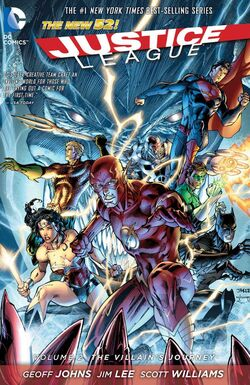 Cover for the Justice League: The Villain's Journey Trade Paperback