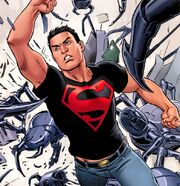 Superboy's third outfit joining the Teen Titans.