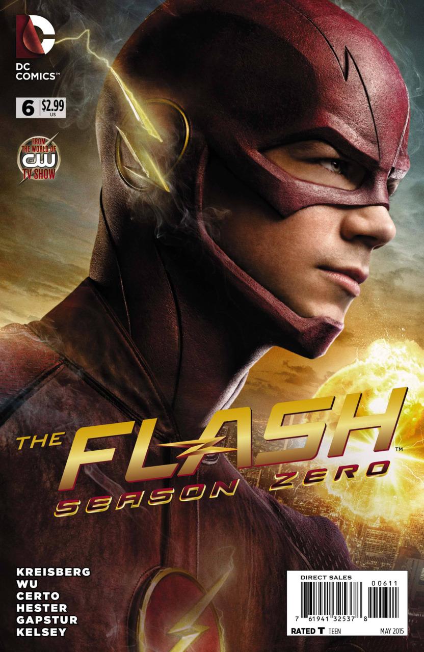 The Flash: Season Zero Vol 1 6 | DC Database | FANDOM powered by Wikia