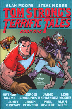 Cover for the Tom Strong's Terrific Tales Vol. 1 Trade Paperback