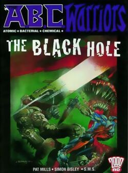 Cover for the ABC Warriors: The Black Hole Trade Paperback