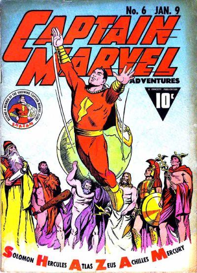 Captain Marvel Adventures Vol 1 6 | DC Database | Fandom