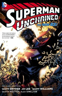 Cover for the Superman Unchained Trade Paperback