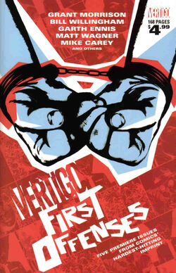 Cover for the Vertigo: First Offenses Trade Paperback