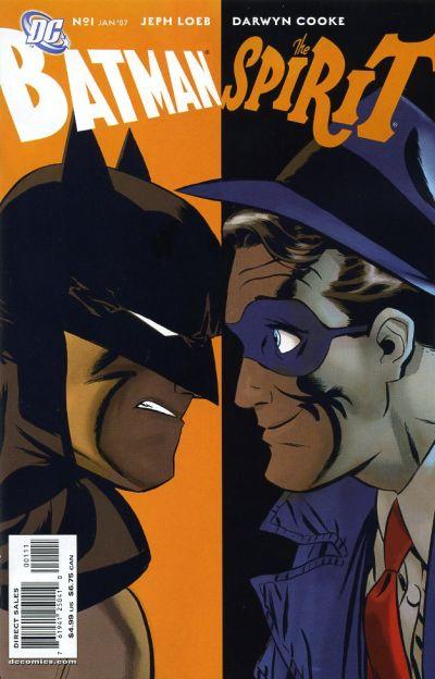 Image result for BATMAN/THE SPIRIT:  CRIME CONVENTION