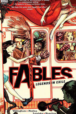 Cover for the Fables: Legends in Exile Trade Paperback