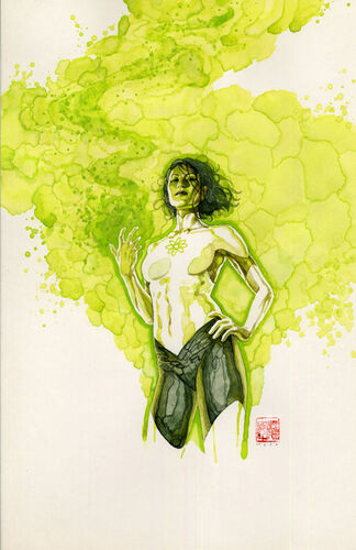 Textless [[David Mack|Mack]] Variant