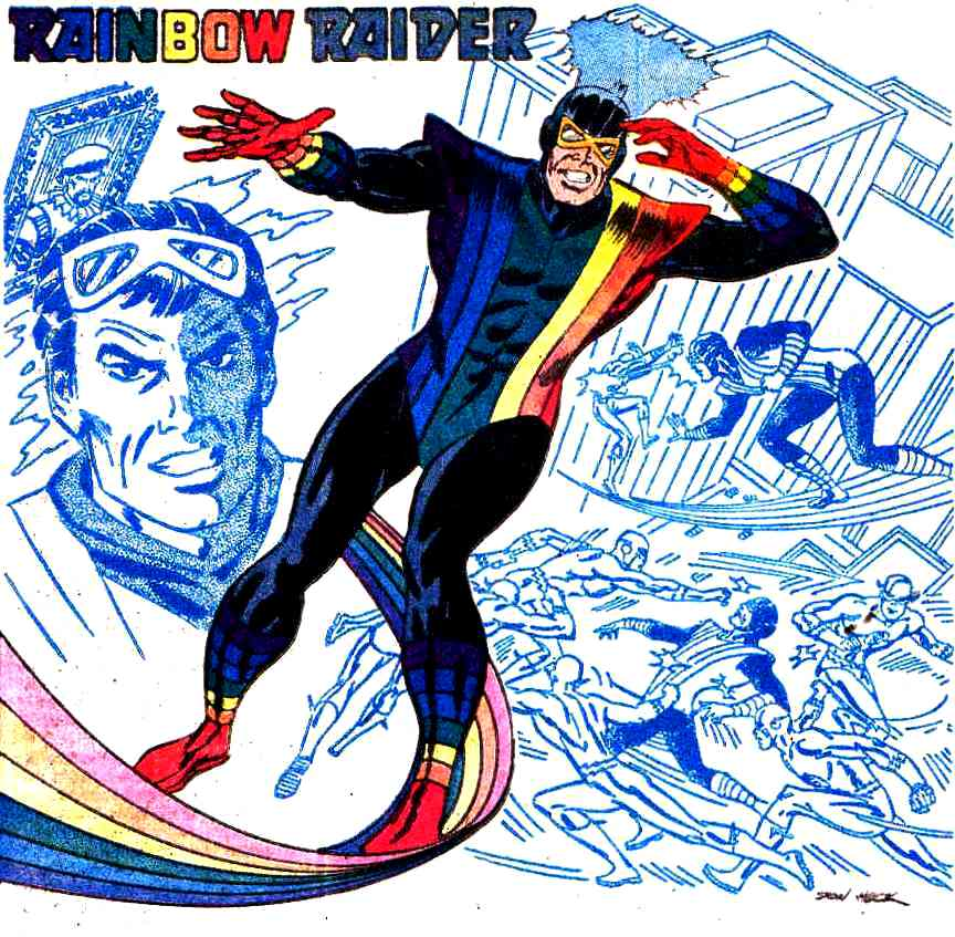 「Rainbow Raider」的圖片搜尋結果