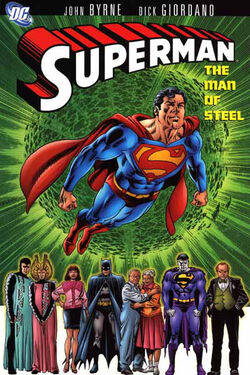 Cover for the Superman: The Man of Steel Vol. 1 Trade Paperback
