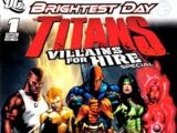 Titans: Villains for Hire Special Vol 1 1