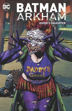 Cover for the Batman Arkham: Joker's Daughter Trade Paperback