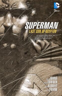 Cover for the Superman: Last Son Trade Paperback