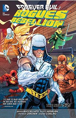 Cover for the Forever Evil: Rogues Rebellion Trade Paperback
