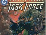 Justice League Task Force Vol 1 34