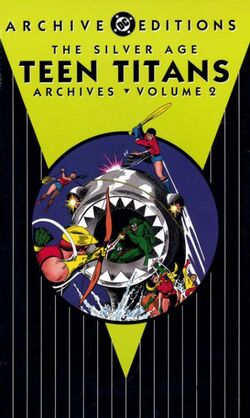 Cover for the Silver Age Teen Titans Archives Vol. 2 Trade Paperback