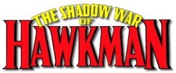 The Shadow War of Hawkman (1985) logo