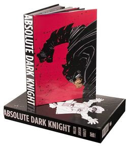 Cover for the Absolute Dark Knight Trade Paperback