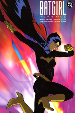 Cover for the Batgirl: Year One Trade Paperback