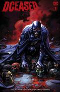 DCeased Vol 1 1 Scorpion Comics Clayton Crain Infected Batman Trade Dress Variant Cover