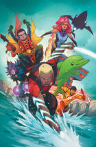 Aqualad and the Teen Titans