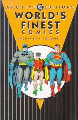 Cover for the World's Finest Comics Archives Vol 1 Trade Paperback
