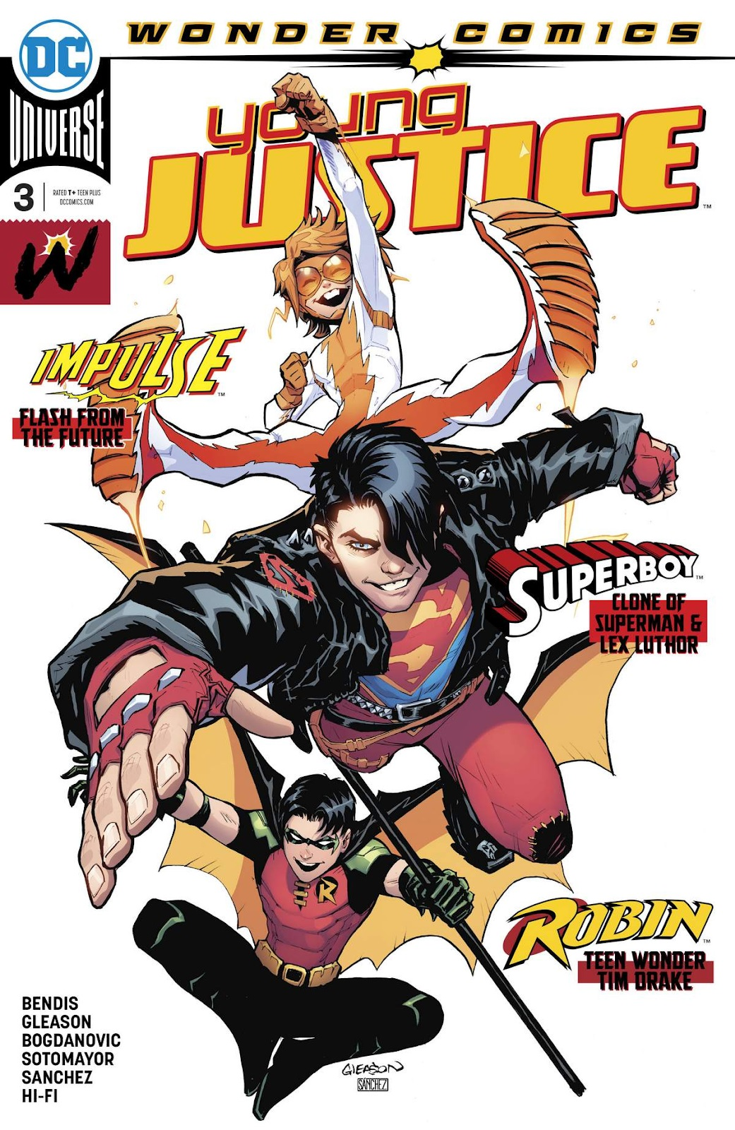 Young Justice # 6 Variant Cover NM DC Wonder Comics