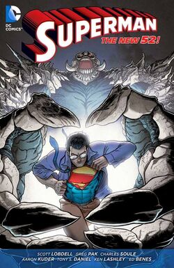 Cover for the Action Comics: Superdoom Trade Paperback