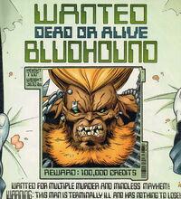 Bounty warrant for Bludhound.