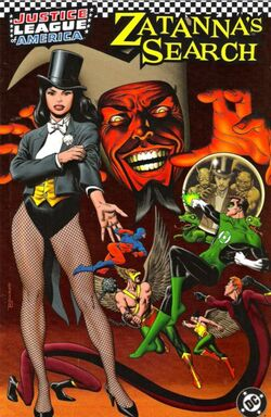 Cover for the JLA: Zatanna's Search Trade Paperback