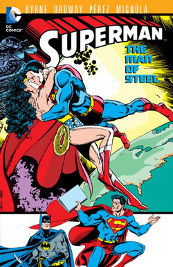 Cover for the Superman: The Man of Steel Vol. 8 Trade Paperback