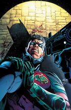Batman confronts Red Robin