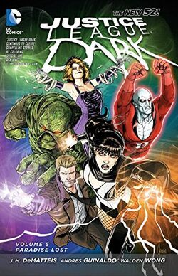 Cover for the Justice League Dark: Paradise Lost Trade Paperback
