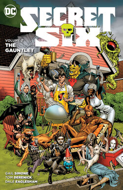 Cover for the Secret Six: The Gauntlet Trade Paperback
