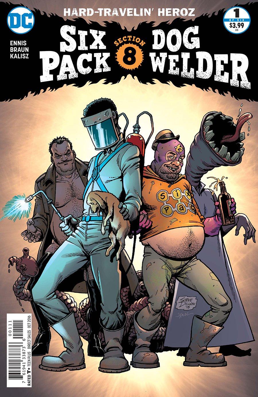Sixpack and Dogwelder: Hard-Travelin' Heroz Vol 1 1   DC
