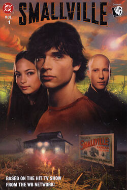 Cover for the Smallville Trade Paperback