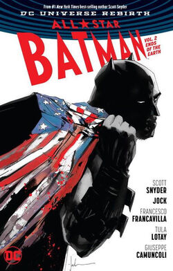 Cover for the All-Star Batman: Ends of the Earth Trade Paperback
