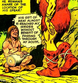 Anthro was the first Cro-Magnon man, progenitor of the human race